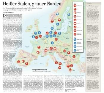 Auswirkungen des Klimawandels in Europa