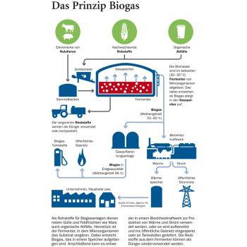 Biogas-Produktion