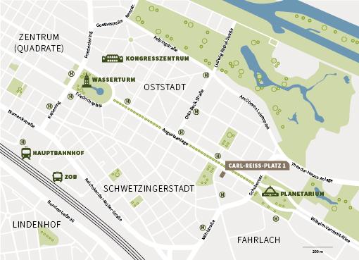 Mannheim Innenstadt